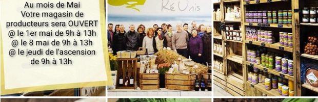 La Ferme des producteurs RéUnis : des produits locaux et de saison