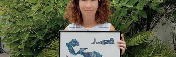 Oriane, une jeune créatrice inspirée