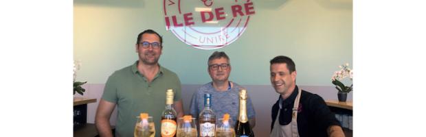 L'apéritif se réinvente avec un nouveau cocktail officiel « made in Ré »…