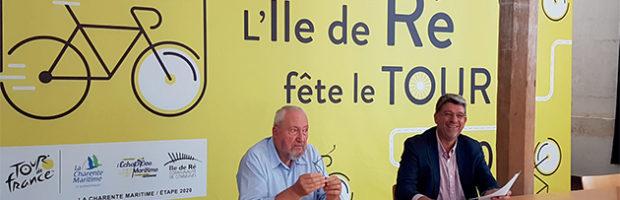 Le Tour de France, exceptionnelle promotion de la carte postale « île de Ré »