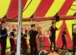 Les chapiteaux d'Ophidie Circus illuminés pour les vacances de Noël ?