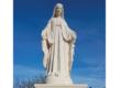 La statue de la Vierge : un beau cadeau de noël pour les Flottais