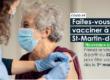 Une vaccination… au compte-gouttes