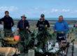 Filet de pêche à la dérive : un véritable danger sur les côtes du nord de l'île