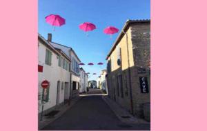 Octobre rose : les villages rétais solidaires